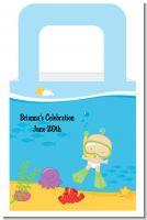 Under the Sea Baby Snorkeling - Personalized Baby Shower Favor Boxes