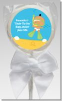 Under the Sea Hispanic Baby Snorkeling - Personalized Baby Shower Lollipop Favors