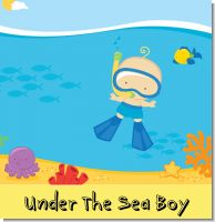 Under The Sea Baby Boy Baby Shower Theme