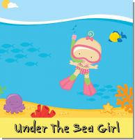 Under The Sea Baby Girl Baby Shower Theme