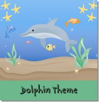 Dolphin Birthday Theme