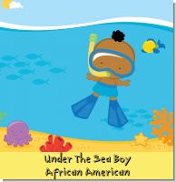 Under the Sea African American Baby Boy