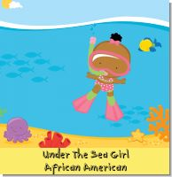Under the Sea African American Baby Girl