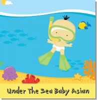 Under The Sea Asian Baby