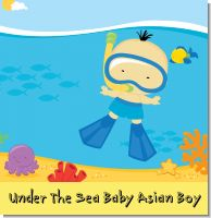 Under The Sea Baby Asian Boy