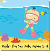 Under The Sea Baby Asian Girl