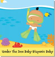 Under The Sea Baby Hispanic Baby