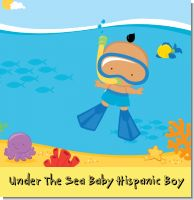 Under The Sea Baby Hispanic Boy