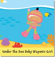 Under The Sea Baby Hispanic Girl