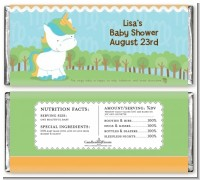 Unicorn | Virgo Horoscope - Personalized Baby Shower Candy Bar Wrappers
