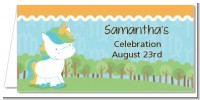 Unicorn | Virgo Horoscope - Personalized Baby Shower Place Cards