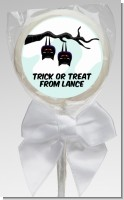 Upside Down Bats - Personalized Halloween Lollipop Favors