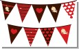 Cupid Baby Valentine's Day - Baby Shower Themed Pennant Set thumbnail