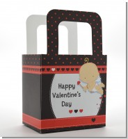 Cupid Baby Valentine's Day - Personalized Baby Shower Favor Boxes