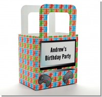 Video Game Time - Personalized Birthday Party Favor Boxes