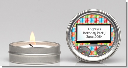 Video Game Time - Birthday Party Candle Favors