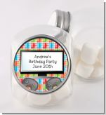 Video Game Time - Personalized Birthday Party Candy Jar