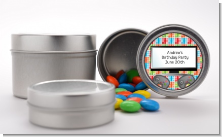 Video Game Time - Custom Birthday Party Favor Tins