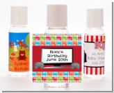 Video Game Time - Personalized Birthday Party Hand Sanitizers Favors