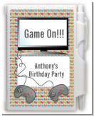 Video Game Time - Birthday Party Personalized Notebook Favor