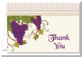 Vineyard Splash - Bridal Shower Thank You Cards