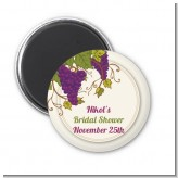 Vineyard Splash - Personalized Bridal Shower Magnet Favors