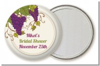 Vineyard Splash - Personalized Bridal Shower Pocket Mirror Favors