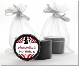 Vintage Magic - Birthday Party Black Candle Tin Favors
