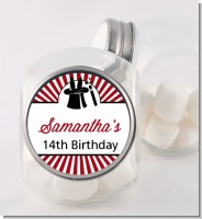 Vintage Magic - Personalized Birthday Party Candy Jar