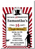 Vintage Magic - Birthday Party Petite Invitations
