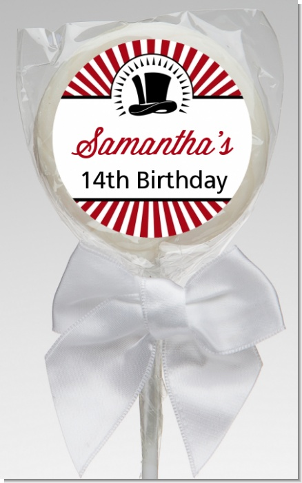 Vintage Magic - Personalized Birthday Party Lollipop Favors