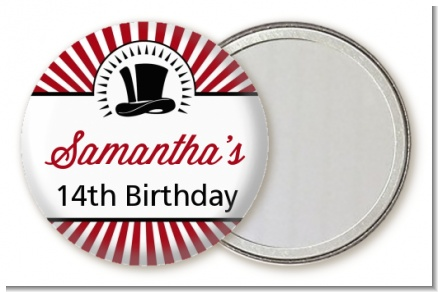Vintage Magic - Personalized Birthday Party Pocket Mirror Favors
