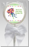 Wedding Bouquet - Personalized Bridal Shower Lollipop Favors