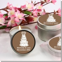 Wedding Cake - Bridal | Wedding Candle Favors