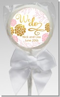 We Do - Personalized Bridal Shower Lollipop Favors