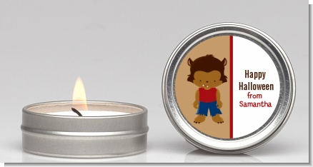 Werewolf - Halloween Candle Favors