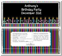 Birthday Wishes - Personalized Birthday Party Candy Bar Wrappers
