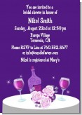 Wine Tasting - Bridal Shower Invitations