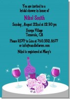 Wine Tasting Green - Bridal Shower Invitations