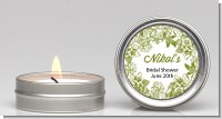 Winery - Bridal Shower Candle Favors