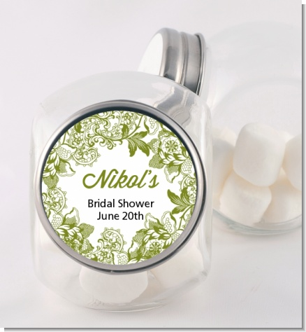 Winery - Personalized Bridal Shower Candy Jar