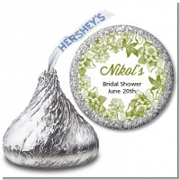 Winery - Hershey Kiss Bridal Shower Sticker Labels