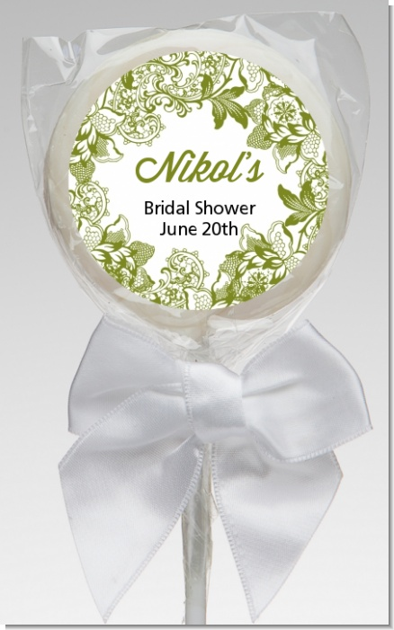 Winery - Personalized Bridal Shower Lollipop Favors