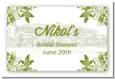 Winery - Bridal Shower Landscape Sticker/Labels