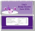 Wine Tasting - Personalized Bridal Shower Candy Bar Wrappers thumbnail