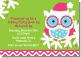 Winter Owl - Christmas Invitations thumbnail