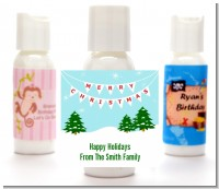 Winter Wonderland - Personalized Christmas Lotion Favors