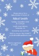Christmas Baby Snowflakes - Baby Shower Invitations thumbnail