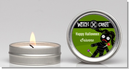 Witch Craft - Halloween Candle Favors