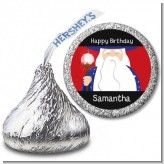 Wizard - Hershey Kiss Birthday Party Sticker Labels